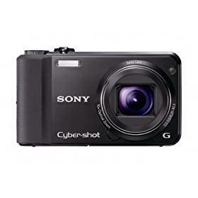 Sony Cyber-Shot DSC-HX7V 16.2 MP Exmor R CMOS Digital Still Camera with 10x Wide-Angle Optical Zoom G Lens, 3D Sweep Panorama, and Full 1080/60i HD Video (Black)