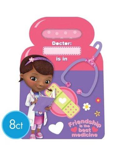 Doc Mcstuffins Favor Bags 8 Ct.