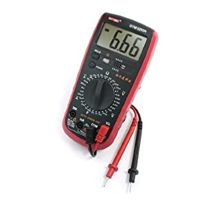 how to read a multimeter amps analog