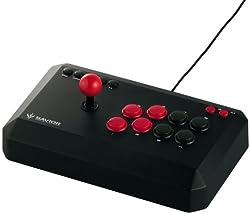 iBUFFALO USBアーケードスティック PC/PS3対応 13ボタン ブラック BSGPAC02BK