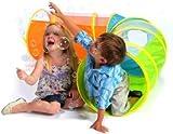 Turnaround tunnel childrens pop up play tent kids playhouse uk