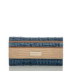 Soft Checkbook Wallet<br>Surf Vineyard