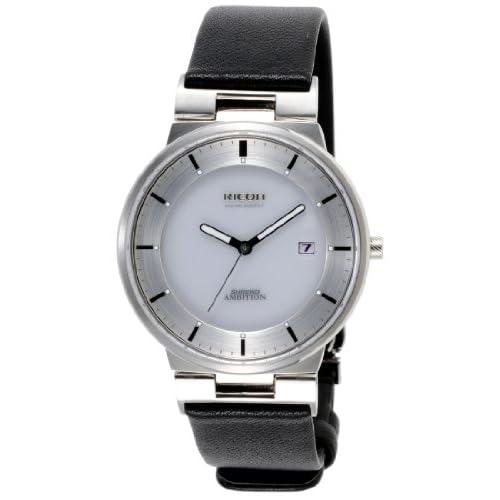 [リコー]RICOH ソーラー腕時計 シュルード・アンビション・スマート アナログ表示 10気圧防水 日付表示 ホワイト 697006-12 メンズ