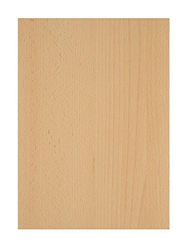 Lit avec 2 tiroirs de rangement hêtre et blanc, H 76 x L 193 x P 96 cm -PEGANE-