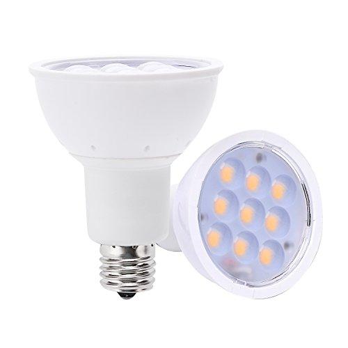 LOHAS® 4w E17 LED Light Bulbs 3000k Warm White 60 Degree - LED Spotlights - Replacement Incandescent Light Bulb, Small LED Lights for Sale, Best LED Light Bulb Types(2 Pack)