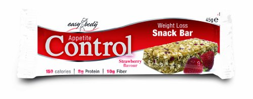 Easy Body Appetite Control 45 g Red Fruits Weight Loss Support Snack Bars - Box of 15