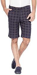 Urbantouch Men's Cotton Shorts(4664, Black, 34)