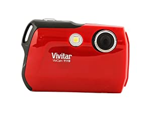 Vivitar 12.1MP Digital Camera with 1.8-Inch TFT (VT119-RED)