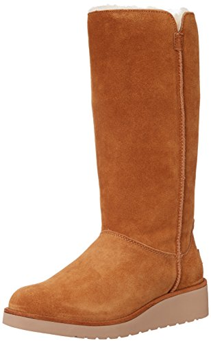 Koolaburra by UGG Women's Classic Slim Tall Winter Boot, Chestnut, 8 M US (Ugg Classic Tall Boots compare prices)