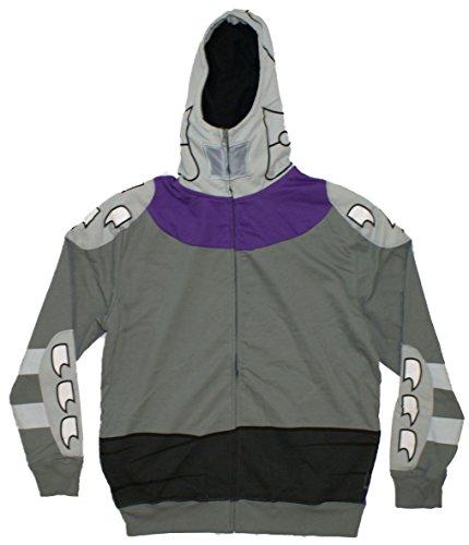 TMNT Shredder Costume Hoodie Black Medium