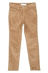Poppers by Pantaloons Boy's Regular Fit Trouser(205000005618652, Beige, 9-10 Years)