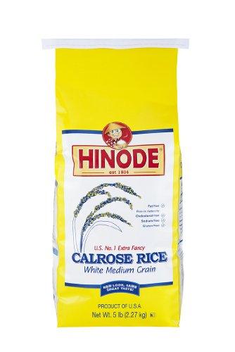 5lb Hinode Calrose Medium Grain White Rice (Hinode Rice compare prices)