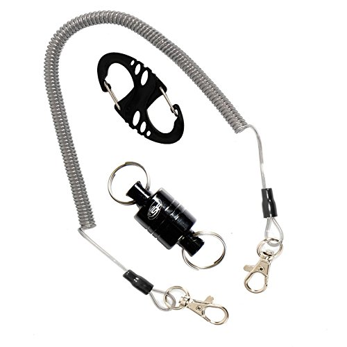 SF Strongest Magnetic Release Holder with Cord 12 LB ( black ) (Trout Starter Kit compare prices)