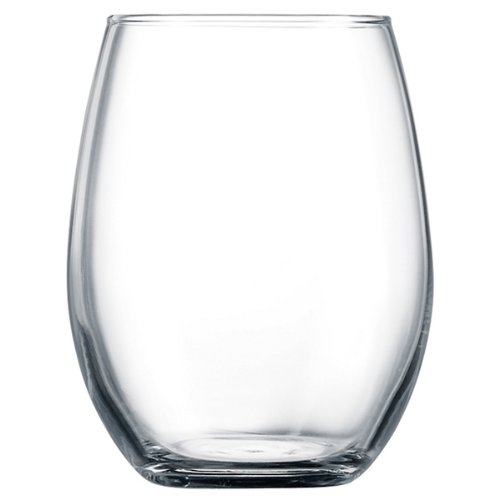 Primary Hiball Tumblers 12oz / 360ml - Pack of 6 | 36cl Wine Tumblers, Stemless Wine Glases, Hi Ball Glasses