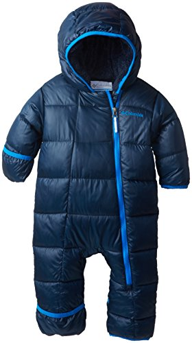Columbia Baby Boys' Newborn Frosty Freeze Bunting, Collegiate Navy, 3-6 Months front-1070945
