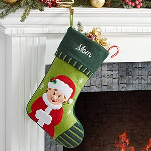 Personalized Christmas Stockings - Mrs. Claus