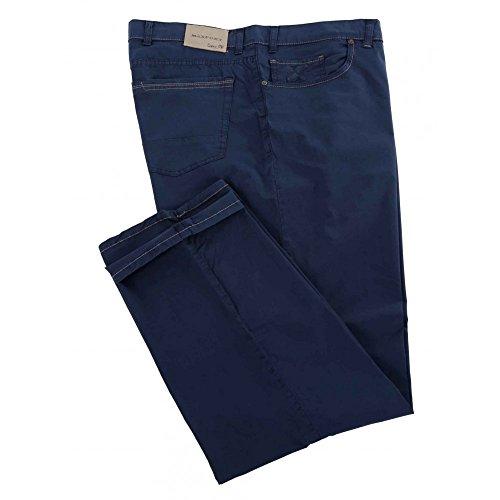 Pantalone Maxfort Liberio taglie forti uomo - Blu scuro, 88 GIROVITA 176 CM