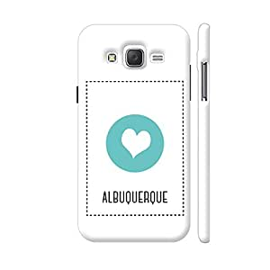 Colorpur I Love Albuquerque Designer Mobile Phone Case Back Cover For Samsung Galaxy J5 | Artist: Torben