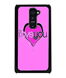 PRINTVISA Quotes Love Case Cover for LG G2