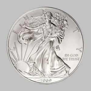 2009 Silver American Eagle
