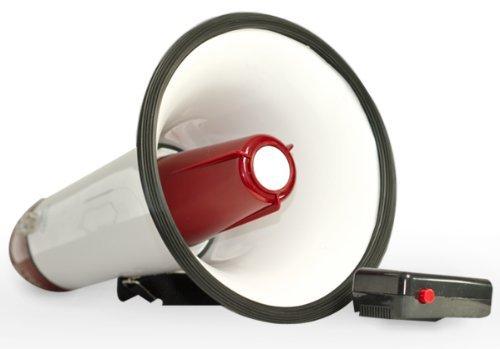 New 30 Watt Megaphone Bullhorn Microphone Siren Speaker Music