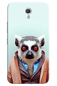 Omnam Mouse In Dress Printed Designer Back Cover Case For Lenovo Zuk Z1