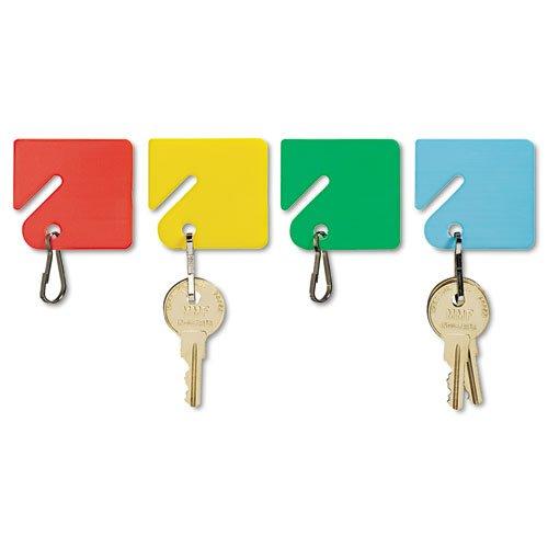 "SteelMaster Slotted Rack Key Tags, Plastic, 1-1/2"" x 1-1/2"", 20 Pack (MMF2013004W47)"