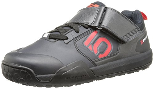Five Ten Men's Impact VXI Clipless Bike Shoe, Team Black, 8.