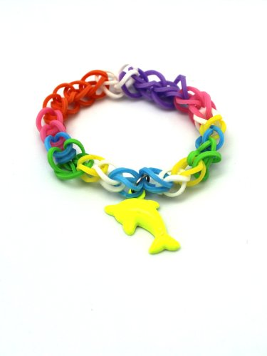 Rainbow loom dolphin - photo#36