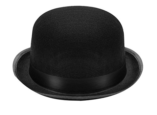 Kangaroo Black Derby Hat 1