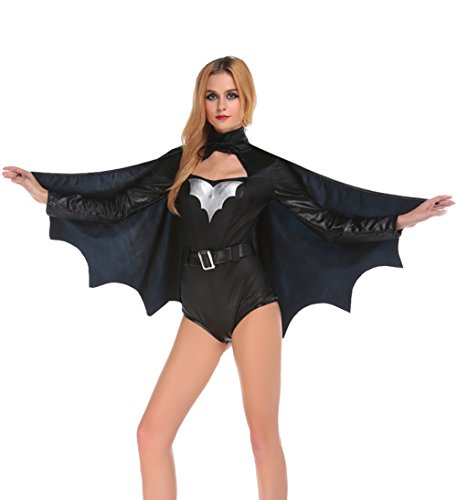 Blues Outfit Women Halloween Batgirl Costume Adult