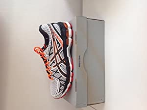 Asics gel kayano 20 white/black/red 45 m