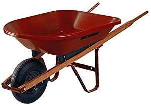 Ames True Temper PW4 30 4-Cubic Foot Poly Wheelbarrow (Discontinued by Manufacturer)