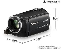 Panasonic HC-V160 Video Camera (Black)