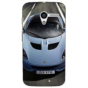 Jugaaduu Super Car Lotus Back Cover Case For Moto X (1st Gen)
