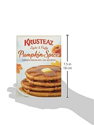 Krusteaz Pumpkin Spice Pancake Mix 16 oz(3 Pack) by Continental Mills