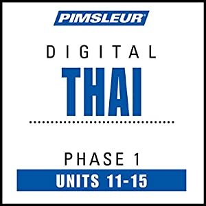 Thai Phase 1, Unit 11-15 Audiobook