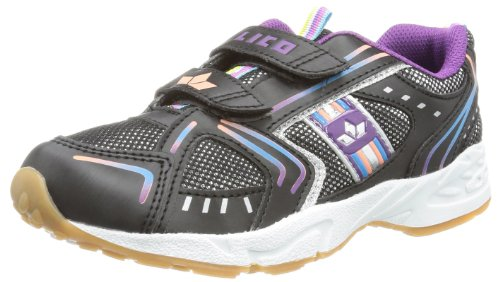 Lico Unisex - Child Silverstar V Indoor Shoes Black Schwarz (schwarz/silber/bunt) Size: 36