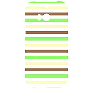 Skin4gadgets Famous Neapolitan Ice Cream Stripes Pattern No.22 Phone Designer CASE for HTC ONE M8