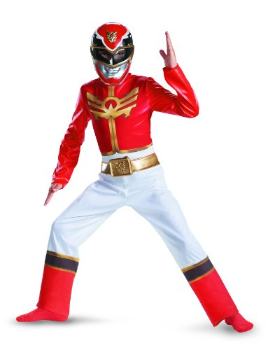 Power Rangers Red Ranger Megaforce Classic Child Costume