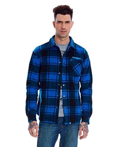 Headworx Camisa Hombre Polar Furnace Azul