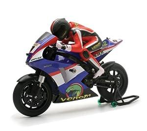 Venom GPV - 1 Ch 6 R/C Motorcycle - Rtr In Blue