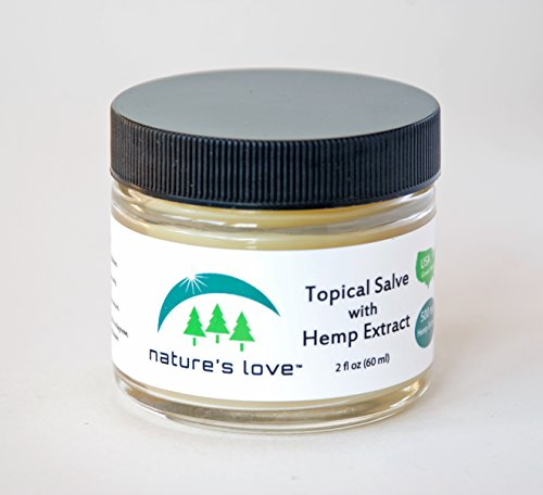 Nature's Love Topical ReLeaf Salve with 500mg Hemp Extract - 2 oz (Cannabis Extract compare prices)