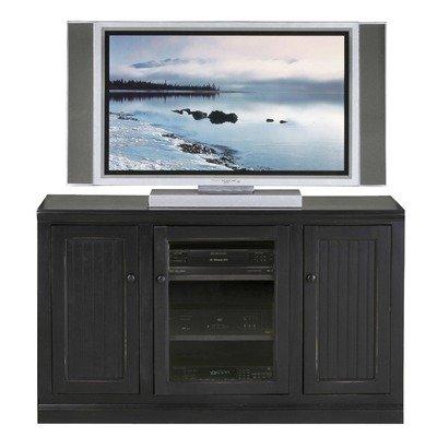 Cheap Coastal 55″ Thin Tall TV Stand (72855PLBK)