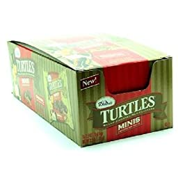 TURTLES KING SIZE ORIGINAL MINIS 2.5 oz Each ( 16 in a Pack )