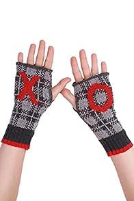 Green 3 Apparel XO USA made Hand warmers (Grey/Red)
