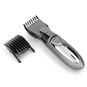 personal electric rechargeable waterproof beard hair cutting trimmer clipper razor shaver. Black Bedroom Furniture Sets. Home Design Ideas