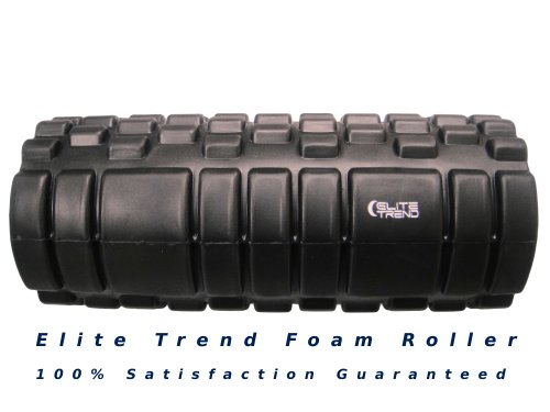 For Sale! Foam Roller by Elite Trend, Elite Performance - Total Body Workout - Deep Tissue Massage -...