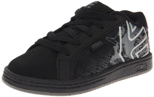 Etnies Metal Mulisha Fader Skate Shoe (Toddler/Little Kid/Big Kid),Black/Dark Grey/Grey,2.5 D Us Little Kid