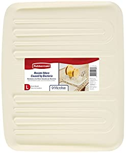 Rubbermaid Tray, Large, Bisque